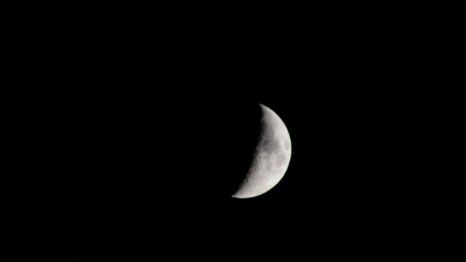 fotografia luna