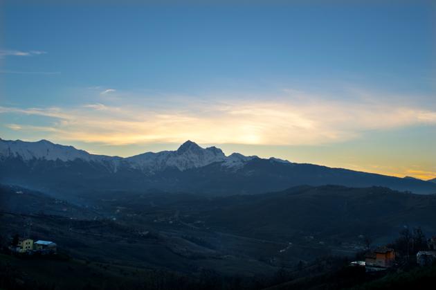 L'ultimo tramonto dell'anno