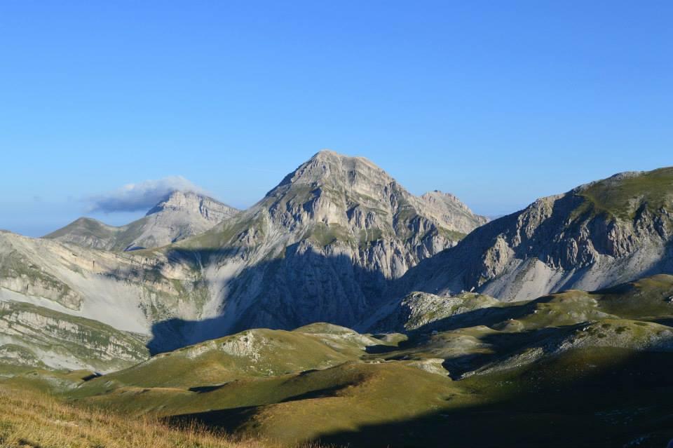 foto gran sasso landscape
