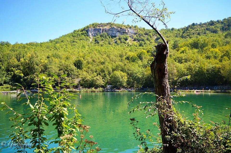 fotografia lago sinizzo