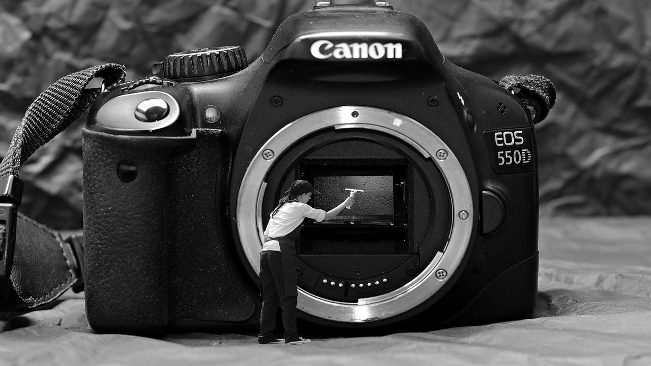 Come pulire la macchina fotografica