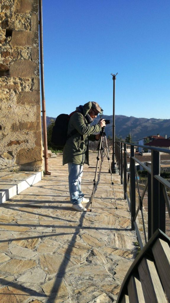 l'attrezzatura di un fotografo