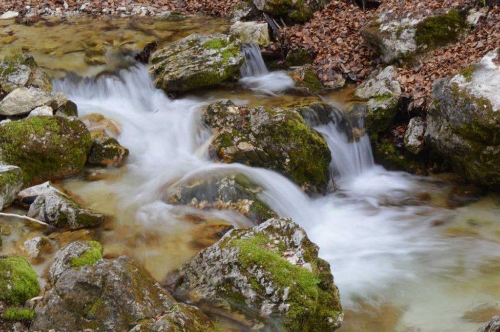 come ottenere l effetto seta nelle foto d'acqua