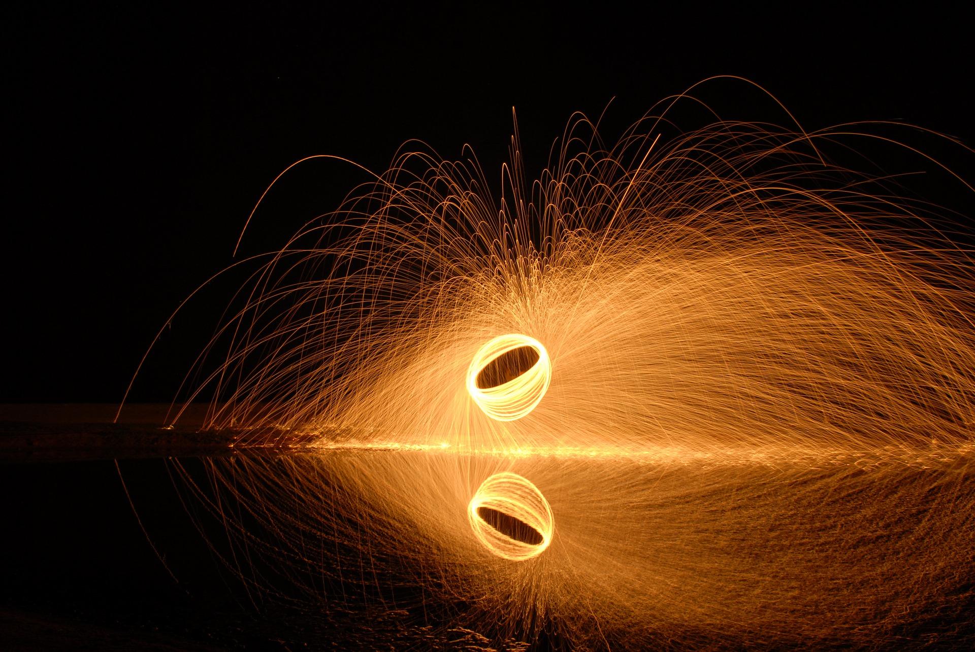 Steel Wool Photography: come realizzare scatti infuocati