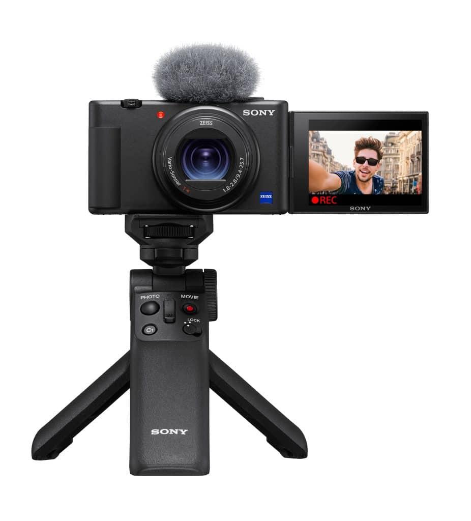 sony zv-1 la fotocamera per i vlogger